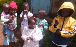 Children with Crosses